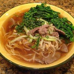Faux Pho Bo (Vietnamese Beef Noodle Soup)