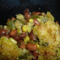 Slow-Cooker Southwestern Pot Pie (Vegetarian)