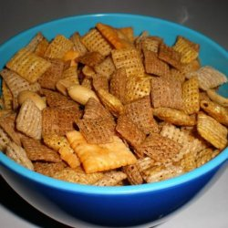 My Microwavable Version of Chex Party Mix