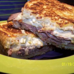 Green Chili Roast Beef Sandwiches recipe