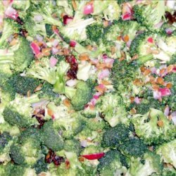 Raw Broccoli Salad (Reduced Calorie/Low Fat)