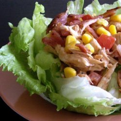 Barbecue BLT Chicken Salad