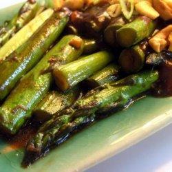 Asparagus & Black Bean Sauce Stir Fry