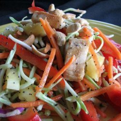 Crunchy Poppy Seed Chicken Salad