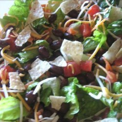 Jumping Black Bean Salad recipe