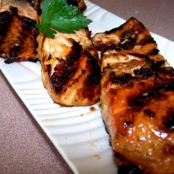 Barbecued Salmon  and  Easy Marinade