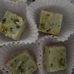 Burfi a La Yamuna - Indian Fudge