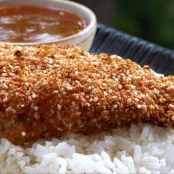 Easy Sesame Chicken With Apricot Sauce