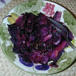 Roasted Cabbage With Balsamic Vinegar