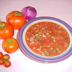Fresh Homemade Garden Salsa