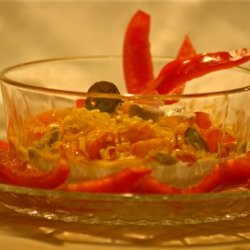 Creamy, Salsa Dip (3 Ingredients, 3 Minutes!)