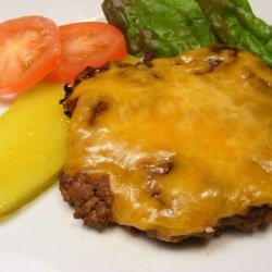 Barbequed Cheddar Burgers
