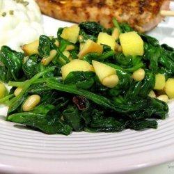Espinaca a La Catalan (Catalan-Style Spinach) recipe