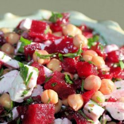 Chickpea Beetroot Salad