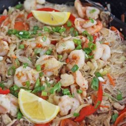 Shrimp & Chicken With Rice