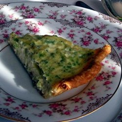 Swiss Cheese Quiche (Julia Child)