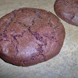 Triple Chocolate Espresso Bean Cookies