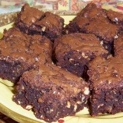 One Bowl Cookie-Stuffed Brownies