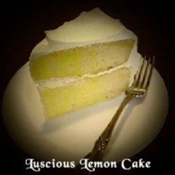 Luscious Lemon Cake recipe