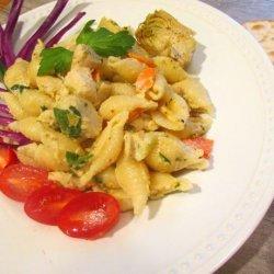 Chicken Pasta Salad in the Hidden Valley of Good Eats #RSC