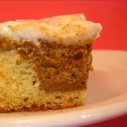 Marbled Pumpkin Cake