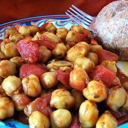 Spicy Chickpea Tagine