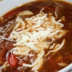 Garlic Piperade Soup