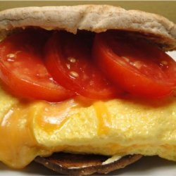 Healthy Summer Time (Or Anytime) Omelet Sammie/Sandwiches