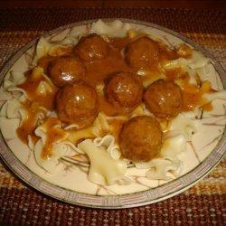 Meatballs in Hungarian Sour Cream Gravy recipe
