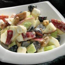 Apple and Peanuts Salad