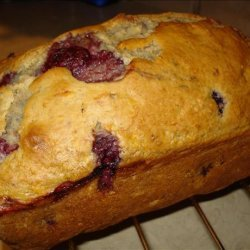 Banana - Raspberry Bread Low Fat