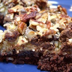Fabulously Easy Coconut Brownies