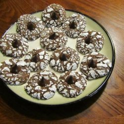 Chocolate Mint Crinkle Cookies recipe