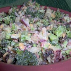 Broccoli-cheese Salad