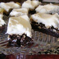 Three-layer Brownies