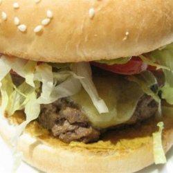 Cheddar-Horseradish Burgers