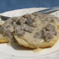 Sausage Gravy for Biscuits and Gravy