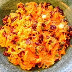 Carrot-Craisin Salad with Ginger recipe