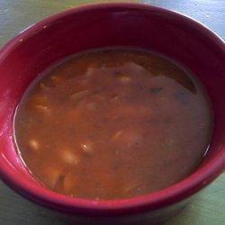 Albanian White Bean Soup (Jani Me Fasule)