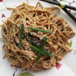 Peanut Butter Sesame Noodles