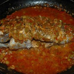 Whole Red Snapper in Szechuan Hot Sauce