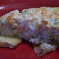Broccoli Quiche in Potato Crust