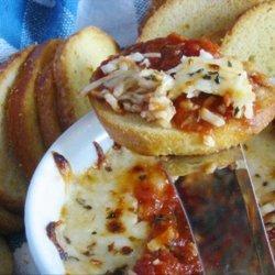 Mozzarella and Basil With Marinara Sauce
