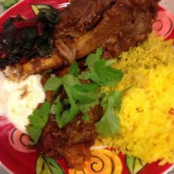 Middle Eastern-Style Lamb Shanks