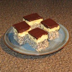 Poppy  Seed Squares recipe