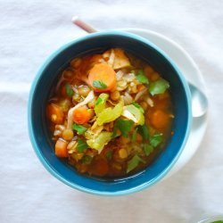Lentil and Split Pea Soup