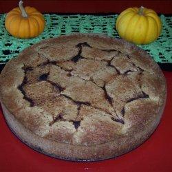 Grandma Geldner's Pflaum (Plum) Torte