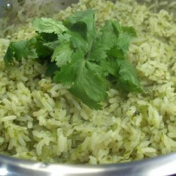 Green Coriander Rice
