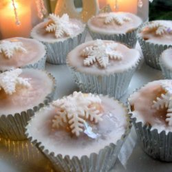 Magical Christmas Fairy Cakes - Christmas Fairy Cupcakes recipe
