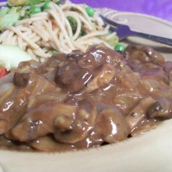 Mushroom Ragout (Serve With Mashed Potatoes)